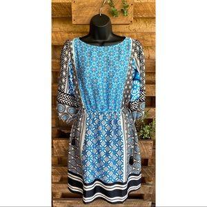 Loft Boho Dress - Size : Medium Petite